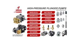 HIGH-PRESSURE PLUNGER PUMPS