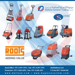 Roots Cleaning Machinery Suppliers In Uae