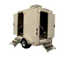 Twin Cabin Executive Trailer Toilets