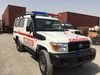 Brand New Toyota Land Cruiser Standard Ambulance.