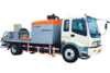 Boomtech Truck-mounted Line Concrete Pump Dubai