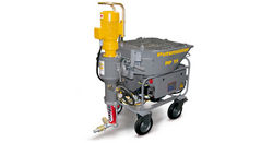RENT SPRAY PLASTER MACHINE IN UAE