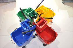 Mop  Bucket Trolleys Supplier In UAE