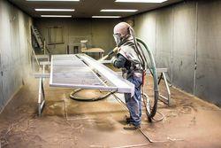 SAND BLASTING MACHINES IN UAE