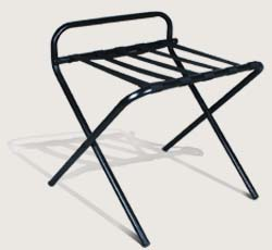 luggage rack wooden and metal 042222641