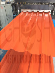 GMI Galvanized Roof Sheet Ral 2004 In UAE