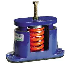 Chiller mounting springs