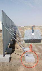 Concrete Fencing blocks supplier in Al Ain
