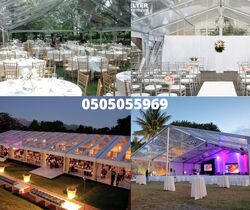 transparent tents rental 0505055969