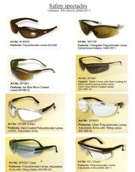 SAFETY GLASS EYEVEX  ... from Gulf Safety Equips Trading Llc Dubai, UNITED ARAB EMIRATES