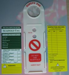 SCAFFOLDING TAG from Gulf Safety Equips Trading Llc Dubai, UNITED ARAB EMIRATES