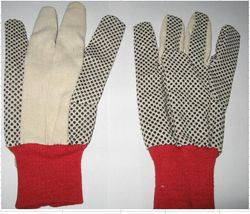 dotted gloves pvc do ... from Gulf Safety Equips Trading Llc Dubai, UNITED ARAB EMIRATES