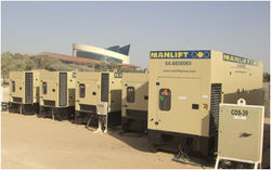 Generators Hiring from Manlift Group | Aerial Work Platform Specialist  Dubai,