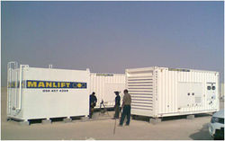 Generators for Oilfields from Manlift Group | Aerial Work Platform Specialist  Dubai,