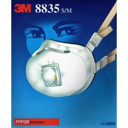 3M 8835 MASK S/M RES ... from Gulf Safety Equips Trading Llc Dubai, UNITED ARAB EMIRATES