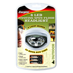 ENERGIZER HEADLIGHT  ... from Gulf Safety Equips Trading Llc Dubai, UNITED ARAB EMIRATES