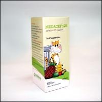 MEDACEF (cefaclor) 125 susp from Medpharma  Sharjah,