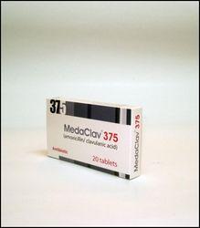 MEDACLAV (amoxy/clav) 375 tab from Medpharma  Sharjah,