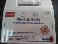 FIRST AID KIT , U.S. ...
