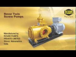 TWIN SCREW PUMP (ROV ... from Nariman Trading Company Llc  Sharjah, UNITED ARAB EMIRATES