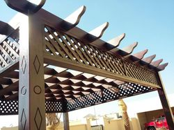 WOODEN PARGOLA SUPPLIER IN UAE +971553866226 from Car Parking Shades +971568181007  Sharjah,