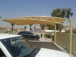 CAR PARKING SHADES INDUSTRIAL AREA 12  from Car Parking Shades +971568181007  Sharjah,