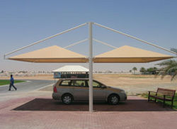 CAR PARK SHADES FOR EMBASSIES,CONSULATES from Car Parking Shades +971568181007  Sharjah,