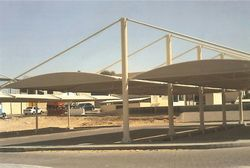 CAR PARK SHADES FOR OIL COMPANIES UN UAE from Car Parking Shades +971568181007  Sharjah,