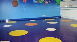 Rubber floor in duba ...