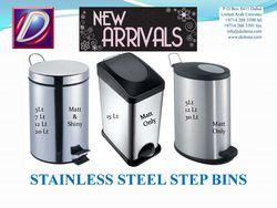 Steel Pedal Bin in U ... from Daitona General Trading Llc  Dubai, UNITED ARAB EMIRATES