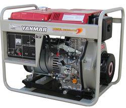 YANMAR YDG 5500N Air-cooled Diesel Generator from Mars Equipments Co.llc.  Abu Dhabi,