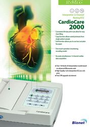 CARDIOCARE 2000 ECG  ... from Mastermed Equipment Trading Llc Dubai, UNITED ARAB EMIRATES