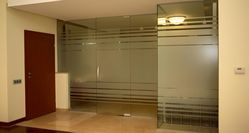 ALUMINIUM & GLASS PARTITION UAE  from White Metal Contracting Llc  Ajman,