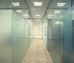 GLASS PARTITION UAE  from White Metal Contracting Llc  Ajman,