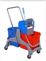Double Mop Bucket Trolly suppliers from  Al Nojoom Cleaning Equipment Llc  Ajman,