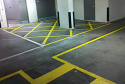 EPOXY LINE MARKING UAE  from White Metal Contracting Llc  Ajman,