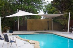 Swimming Pool Shades from Doors & Shade Systems Ajman, UNITED ARAB EMIRATES