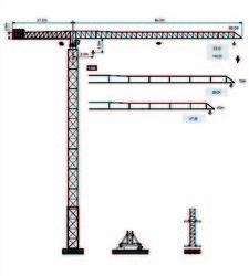Tower Crane Dubai -  ... from House Of Equipment Llc Dubai, UNITED ARAB EMIRATES