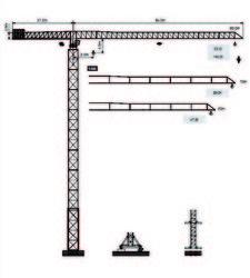 Tower Crane Dubai - Yongmao Tower Crane STT3000 from House Of Equipment Llc  Dubai,