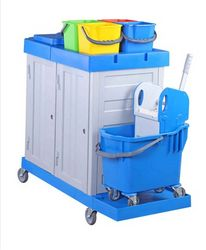 Janitorial Trolley/Cart  from  Al Nojoom Cleaning Equipment Llc  Ajman,