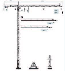 Dubai Tower Crane - Yongmao Tower Crane STT1100 from House Of Equipment Llc  Dubai,
