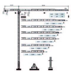 Dubai  Tower Crane - Yongmao Tower Crane STT553B from House Of Equipment Llc  Dubai,