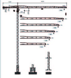 Dubai Tower Crane - Yongmao Tower Crane STT 113 from House Of Equipment Llc  Dubai,