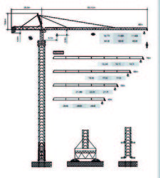 Dubai Tower Crane - Yongmao Tower Crane ST80/116 from House Of Equipment Llc  Dubai,