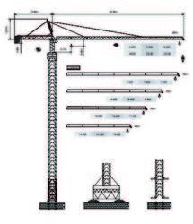 Dubai Tower Crane - Yongmao Tower Crane ST80/60 from House Of Equipment Llc  Dubai,