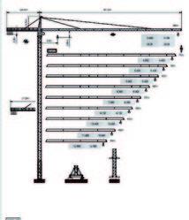 Dubai Tower Crane - Yongmao Tower Crane ST455 from House Of Equipment Llc  Dubai,