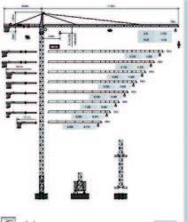 Dubai Tower Crane - Yongmao Tower Crane ST70/32 from House Of Equipment Llc  Dubai,
