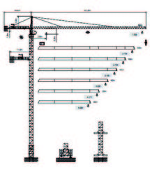 Dubai Tower Crane -  ... from House Of Equipment Llc Dubai, UNITED ARAB EMIRATES