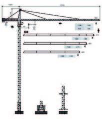 Dubai Tower Crane - Yongmao Tower Crane ST56/13 from House Of Equipment Llc  Dubai,