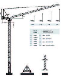 Dubai Luffing Crane -Yongmao Luffing CraneSTL420 from House Of Equipment Llc  Dubai,